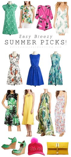 Easy Breezy Summer Picks, Delineate Your Dwelling