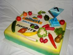 dort pro Albert cake fruits and getable(s)