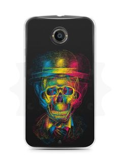 Capa Capinha Moto X2 Caveira #7 - SmartCases - Acessórios para celulares e tablets :)