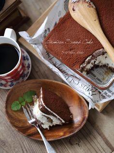 チョコロールケーキ♡ と、ティラミス - lesser panda opk ♡ おなかぽんぽんキッチン | クックパッドブログ