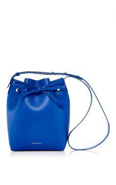 Calf Leather Mini Bucket Bag by Mansur Gavriel | Moda Operandi