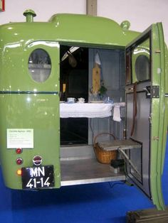 Classic old 1920's rv