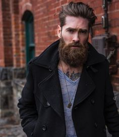 23 Cool Hairstyles For Men 2017 Mens Hairstyles With Beard, Cool Hairstyles For Men, Undercut Hairstyles, Hair And Beard Styles, Hairstyle Ideas, Men's Haircuts, Men's Hairstyle, Popular Hairstyles, Bart Styles