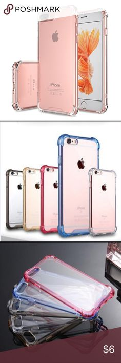 iPhone 7 Plus Crystal Clear Transparent Back Case *Ultra Hybrid [Shock Absorbent] TPU Bumper + [Scratch Resistant] Crystal Clear Bank Panel.        *Protects your phone from dust, dirt, scratches and damages.                                                          *Precise cutouts to preserve full use of volume buttons, charger, camera, microphone, and headphone.                                                               *Designed for Apple iPhone 7 Plus Accessories Phone Cases