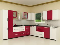 L Shaped Modular Kitchen Designs Catalogue  Google Search  Stuff Fascinating Indian Kitchen Designs Inspiration