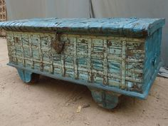 Antique Indian Trunks