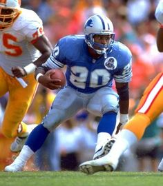 Barry Sanders one of the best running backs ever!