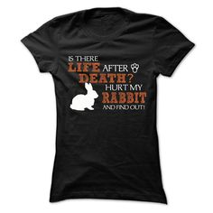 """Love rabbitif you dont like this Tshirt, please use the Search Bar on the top right corner to find the best one (NAME , AGE , HOBBIES , DOGS , JOBS , PETS...) for you. Simply type the keyword and hit Enter!"""" When you press the big GREEN button, you will be able to choose your size(s). Love rabbit"""
