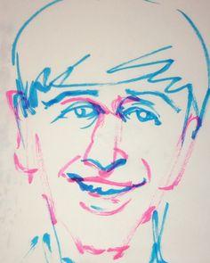 いいね!10件、コメント1件 ― @1mindrawのInstagramアカウント: 「#1mindraw #ringostarr #リンゴスター #thebeatles #19400707 #birthday #誕生日 #portrait #筆ペン画」