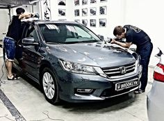 A process of cleaning and protection. Of course, featuring Ceramic Pro #ceramicpro #Russia #huindai #automotive #ceramicprotection #paintprotection #vehicle