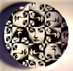 Theme and Variations plate no.275 by Piero Fornasetti