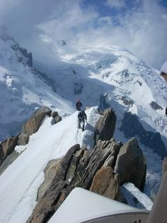 Mont-Blanc-France - Love the snow? Visit the peaks and you'll be mesmerized. This mountain offers one of the most breathtaking sites in the world!