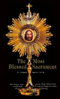 Visit Jesus in the most Blessed Sacrament