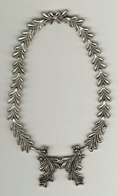 Margo de Taxco sterling silver necklace 1950