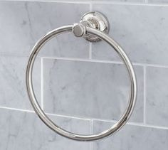 Hayden Towel Ring #potterybarn