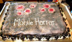 Mobile Horror -televisioversion juhlakakku