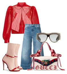 """""""Donna"""" by karon-stylez on Polyvore featuring Gucci and Levi's"""