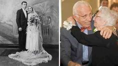 He's 101, she 97 and they've been married for 80 years. Beautiful couple.