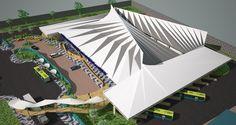 Propuesta para la terminal de buses Interdepartamental del Puerto De la Libertad