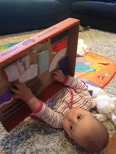Laughing Kids Learn: DIY Sensory Board for Babies