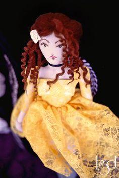 Handmade Unique Romantic Victorian Art Doll Rustic by LocoGlam