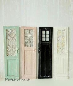 Miniature Doors 1:12 | fairiehollow.com