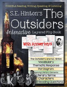 The Outsiders: Interactive Layered Flip Book ($)