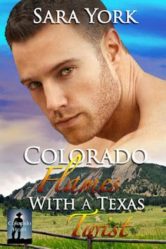 REVIEW BY MERISSA - Colorado Flames With A Texas Twist (Colorado Heart #3) by Sara York - #Adult, #M_M, #Military, #Romance, 4 out of 5 (very good), Enticing Journey's Bookshelf (September)