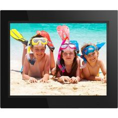 Aluratek - 15 inch Digital Photo Frame, ADMPF315F