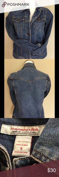 Abercrombie Denim jacket HP  Abercrombie & Fitch 100% Cotton Denim Jacket. Excellent Condition! Abercrombie & Fitch Jackets & Coats Jean Jackets