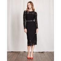 Susannah Lace Dress Black Women Boden, Black