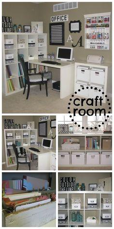 Craft organize space