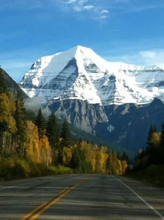 Mount Robson, British Columbia, Canada AKA Home Sweet Home