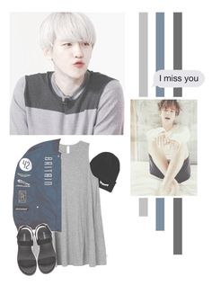 """Byun Baekhyun"" by lazy-alien ❤ liked on Polyvore featuring RVCA, EXO, exok, baekhyun and byunbaekhyun"