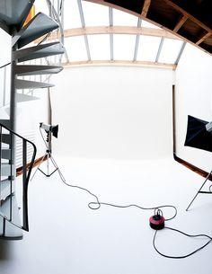 Home Studio by delphinE-LB, via Flickr