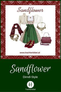 Dirndl-Style Sandflower #styling #dirndl  @trachtenbibel folgen und Trends und Styles entdecken!