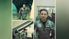 Pictures and Video of Pakistani Pilot Go Viral on Social Media. The pictures of Pakistani pilot who smashed the India aircrafts go viral Jet Fighter Pilot, Pak Army Soldiers, Pakistan Independence, Pakistan Armed Forces, Pakistan Zindabad, Real Hero, Government Jobs, Bollywood Actress, Pakistani