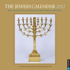 The Jewish Calendar: 2012 Wall Calendar $12.59