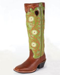 "Twisted X Boots® Ladies' Buckaroo ""WS"" Toe Boots :: Pull-ons :: Ladies' :: Cowboy Boots :: Fort Western Online"