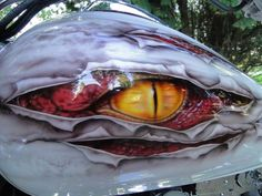 Wicked paint on motorcycle gas tanks. - http://www.men-know-why.com/wicked-paint-on-motorcycle-gas-tanks/