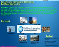 Whether you plan to ship goods for any individual or organization from the producer or manufacturer to an internationalmarket safely, then there is no alternative to obtain the services of any international logistics service provider. Need domestic or international trucking services with best service features? Just give us a call at Worldwide Express, Inc. Our expert team will arrange highest standard domestic as well as international trucking services for clients all over the globe with…