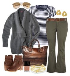 """""""Comfy Fall - Plus Size"""" by alexawebb ❤ liked on Polyvore featuring Gucci, Sperry, C. Wonder, Robert Lee Morris, Oliver Peoples, Butter London, Fall, outfit, plus and plussize"""