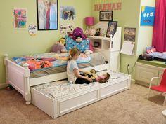 The little girl's room