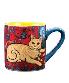 Take a look at this Orange Tabby Cat Catisse Mug by Pavilion Gift Company on #zulily today!
