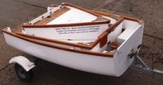 Nesting, Portable, Folding Boats & Dinghies UK - Nestaway Boats Ltd - Trio 16 Dayboat