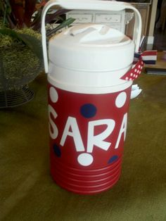 Personalized water jugs