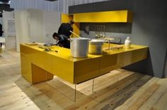 Eurocucina Plastic Laminate Kitchen design