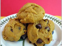 Pumpkin Chocolate Chip Cookies Recipe - making these right now... will let you know how they turn out