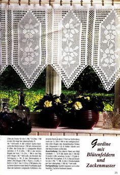 Die 108 Besten Bilder Von Gardinen Crochet Borders Crochet