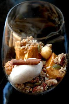 Deconstructed Pumpkin Pie
